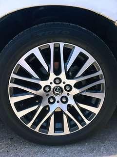 Toyota vellfire original rim