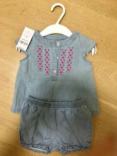 BN Carter's Girls Jean Outfit