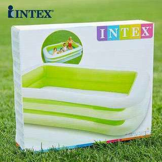 intex home style inflatable pool