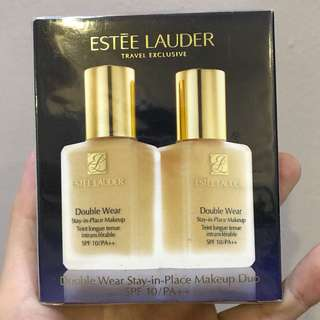BN Estee Lauder Double Wear Foundation 1W1 Bone
