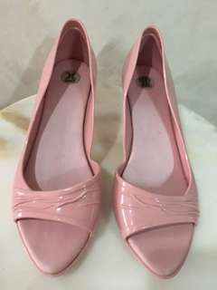 Melissa- Pink Women's Shoes preloved