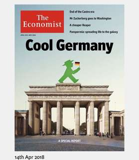 The Economist - Cool Germany (14-20 April)