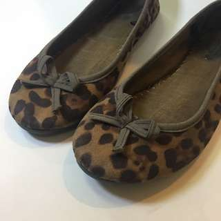 Leopard Print Doll Shoes