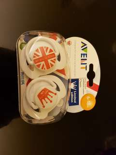 Avent orthodontic soothers