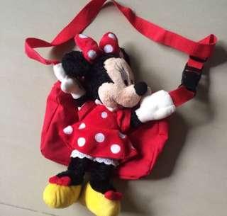 Hong Kong Disney Minnie Pouch