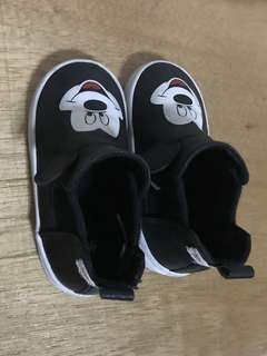 ORIGINAL H&M Mickey Mouse high-cut slip-ons