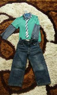 Levi's Jeans and Mothercare Shirt