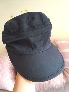 Black stylish cap hat 舒適黑色時尚鴨舌帽