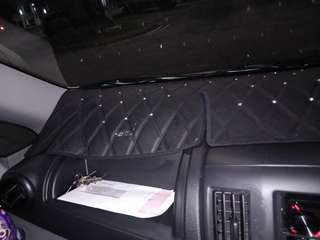 d.a.d bling bling dashboardmat and steering cover