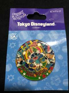 日本 迪士尼 徽章 DISNEY PIN Midsummer Night's Panic 史迪 STITCH