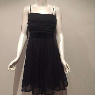 Beautiful! REVIEW Black Silk Dress