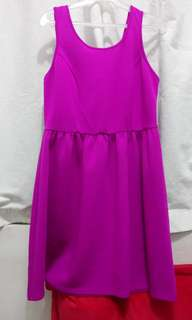 Forever 21 plus pink dress