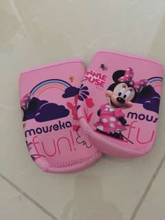 Minnie Mickey Mouse Water Bottle holder/ cover without stripe