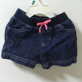 Denim Shorts 12mos