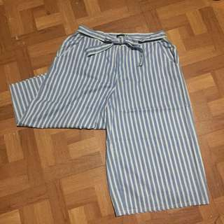 Atmosphere Striped Culottes