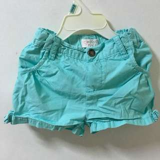 Mint Green shorts by Place