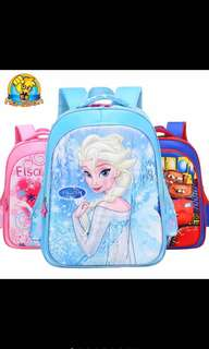 Kids School Bag Disney Elsa Frozen PO