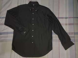 Uniqlo Long-sleeved Polo for Men (Size S)