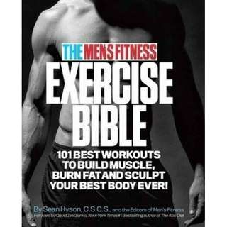 eBook - The Men's Fitness Exercise Bible by Sean Hyson