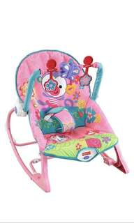 *sold out * Fisher-Price Infant-to-Toddler Rocker, Pink