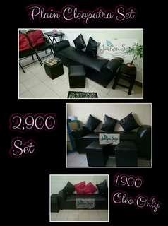 Cleopatra sofa set