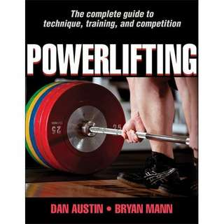 eBook - Powerlifting by Dan Austin