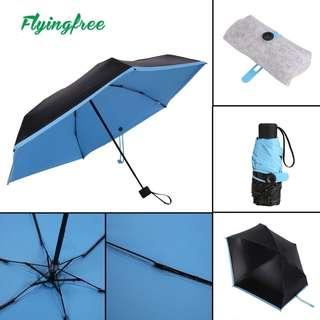 Leather Quality Umbrella (BLUE)