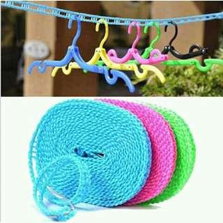 Tali jemuran variasi warna