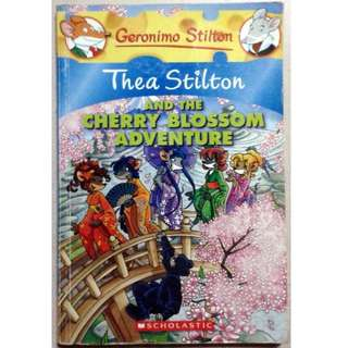 Geronimo Stilton: Thea Stilton and the Cherry Blossom Adventure