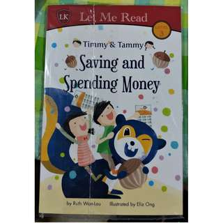 Timmy & Tammy Saving and Spending Money (Children's Book)