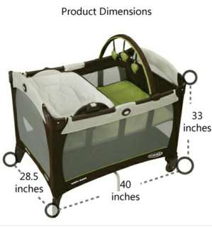 Graco Playpen with Reversal Nappy changer