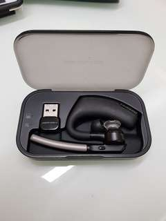 Plantronics voyager legend (faulty) with charging case (working)