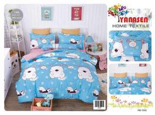 100 % cotton bed sheet