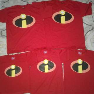 The Incredibles Family Shirt