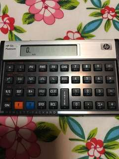 Like new HP 12c Platinum calculator