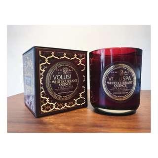 VOLUSPA white currant quince 香氛蠟燭 340g