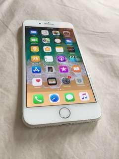 iPhone 7 Plus 256GB Silver White Globe lock
