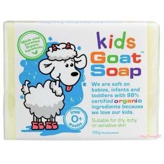 『澳洲原裝進口』Goat Soap 純山羊奶皂天然手工皂(嬰兒皂 嬰幼兒洗澡 沐浴)