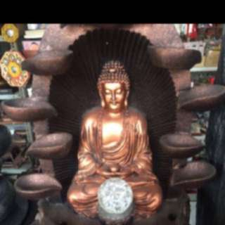 {FS138} Feng Shui Buddha Water Fountain