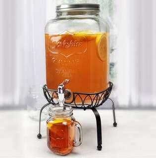 Mason Jar Water Dispenser (Rental)