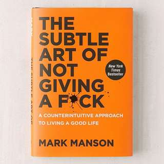 BN The Subtle Art of Not Giving a F*ck by Mark Manson