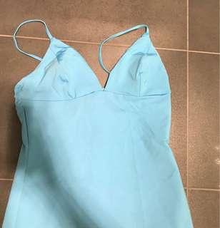 Light blue kookai tight top