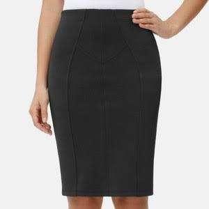 Slimming Pencil Skirt