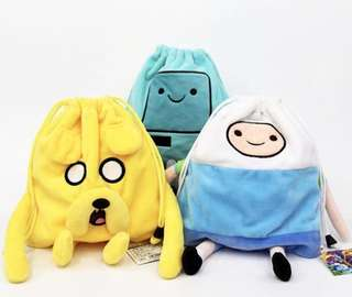 Adventure Time Drawstring Pouch
