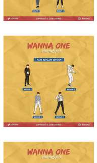 LF HELPER TO BUY THIS WANNAONE PIN!!!