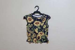 Gymboree Sunflower Blouse