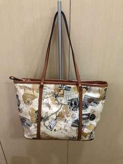 Teenie Weenie bear travel design bag
