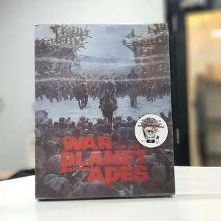 War for the Planet of the Ape (4K+3D) steelbook