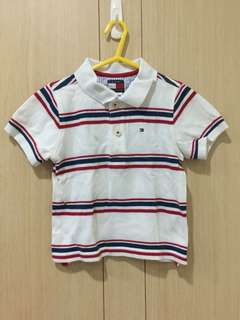 Tommy 短袖POLO衫