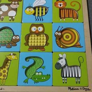 Wooden Puzzles melissa & doug